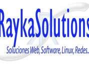 InstalaciÓn de servidores linux, desarrollo de software, soporte
