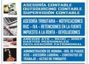 Sistema informatico integrado: software contable de control arcof