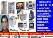 Tecnico whirlpool rodrigo duran  091239995 secadoras lavadoras
