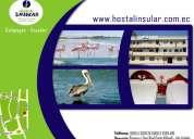 >< hermosas habitaciones con todos los servicios en galapagos><