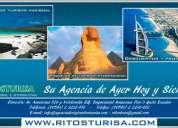 Agencia de viajes en quito, operadoras de turismo