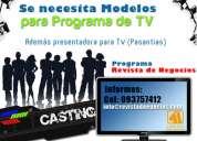 <<> modelos para programa <>> entrevistas: 093757412