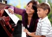 """cursos de piano, guitarra, canto y violín en """"arte y armonía"""" esc"""