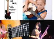 Clases de guitarra clasica y bajo electrico  en sangolqui