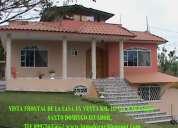 Vendo quinta con casa de 2 plantas, via quevedo km 18, santo domingo-ecuador 0997363565