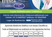 "Diplomado internacional en medicina estetica ""intensivo"""