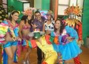Hora loca con personajes Únicos en quito!!! 0992826873