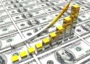 Requiero capital para inversion y produccion a gran escala industrial