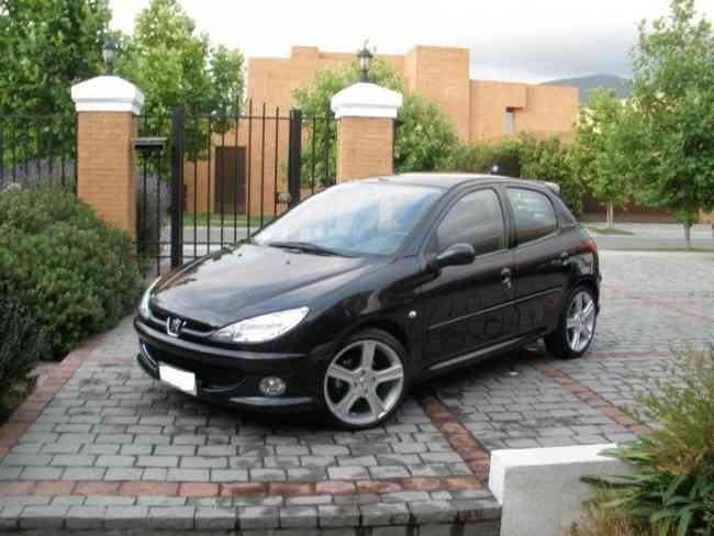 peugeot 206 x line chillanes autos. Black Bedroom Furniture Sets. Home Design Ideas