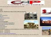 Diseño, planificación, construcción, remodelación, ampliación, topografía, avalúos