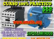 Timers, pulsadores, contactores, curso control industrial