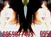 Travesti voluptuosa bella femenina y muy complaciente 0959077403