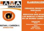 Flama comunicacion profesionales freelance en diseÑo grafico, multimedia audio y video