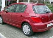 Peugeot 307 año 2007 2.0