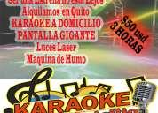 Alquiler de karaoke a domicilio en quito