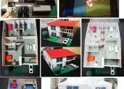 Se realizan planos en autocad maquetas diseno grafico fotoshop y o u fotomontajes 3d persp