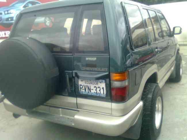 Vendo Cambio Chevrolet Trooper Wagon Ao 1998 Manual Cuenca