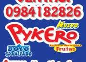 Distribución venta al por mayor helados bolos pykero a nivel nacional