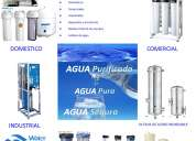 Venta de purificadores de agua osmosis inversa purelife y purepro