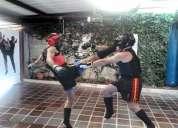 Kick boxing kung fu sanda en la academia choy gar los ceibos