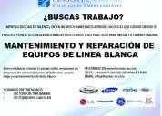 curso de reparación y mantenimiento de equipos de linea blanca