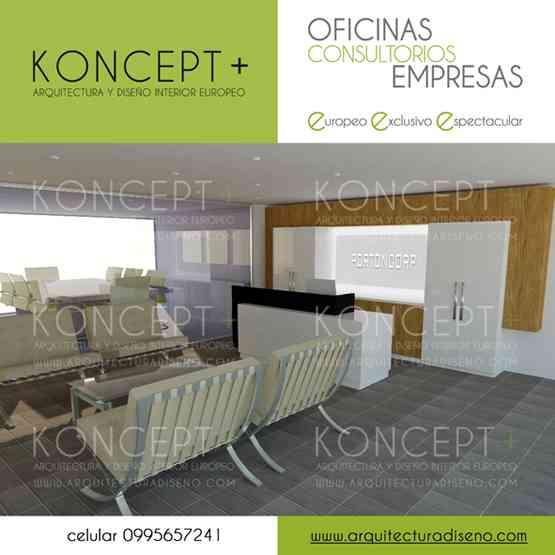 Diseño de OFICINAS | Consultorios | Empresas