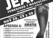 Curso de patronaje industrial de jeans femeninos y masculinos