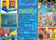 fiestas infantiles en piscina aquatic