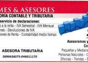 Declaraciones de impuestos y asesoria contable