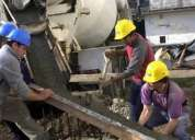 Servicio de albañilería, plomería, electricidad, y aprobación de planos