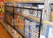 Mallas de almacenamiento para bodegas