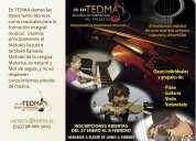 Aprender a tocar guitarra, piano, violín ...