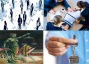 Servicios de asesoria integral empresarial, legal, mercadeo, bienes  raices