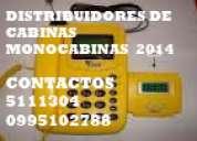 cabinas telefonicas 2014/ 2015 ,monocabinas,cybers, distribuidores de lineas legales,