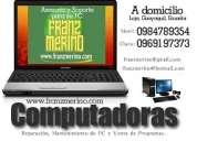 Servicio tecnico pc computadoras programas loja guayaquil