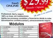 Sistema contable, software contable(sifacon)