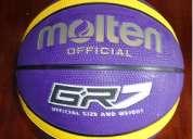 Nuevo balon molten de basquet 7 en caucho