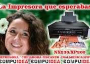 Impresora nx230/xp200 (nueva) + sistema tinta continua
