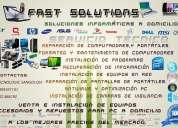Soluciones informaticas servicio a domicilio