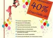 25 años junto a ti aprendiendo inglés ¡40% de descuento!