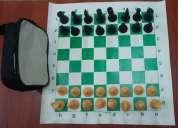 Juegos de ajedrez enrollables en vinil semiprofesionales