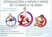 Estimulacion de niÑos y niÑas de 10 meses a 12 meses