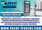 Servicio técnico mantenimiento y reparación de congeladores en quito