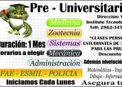 Nivelamos en todas las materias y  preparaciÓn para el ingreso a universidades