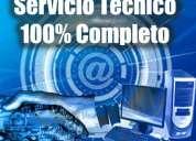 Servicio técnico reparación computadoras, laptops, impresoras, proyectores, monitores lcd