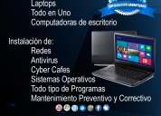 Soporte técnico reparación de computadoras pc laptops tablets