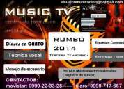 Canto /// tenica vocal ensayos de canto* pistas musicales** 0999-22-33-28
