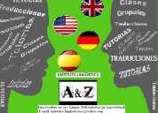 Clases de alemán, espanol e inglés
