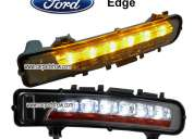 Ford edge led drl faros antiniebla dirección convierten la luz led-631fd