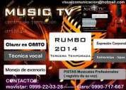 Vacacionales canto - tecnca vocal  - afinacion pistas musicales quito 0999-22-33-28